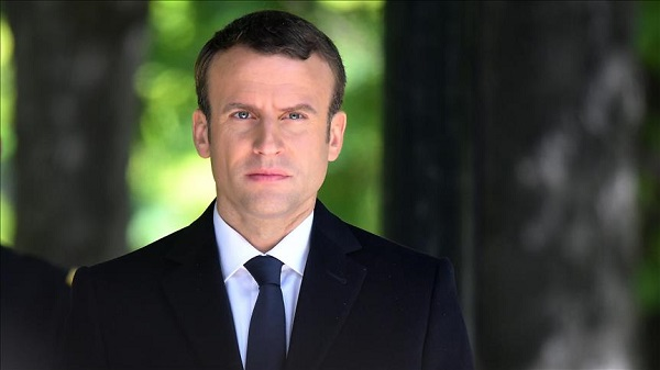Macron says France will not recognise Crimea 'annexation'