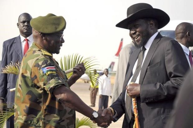 South Sudan's ousted army chief returns to capital