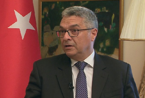 Turkish ambassador points out FETO network in Albania