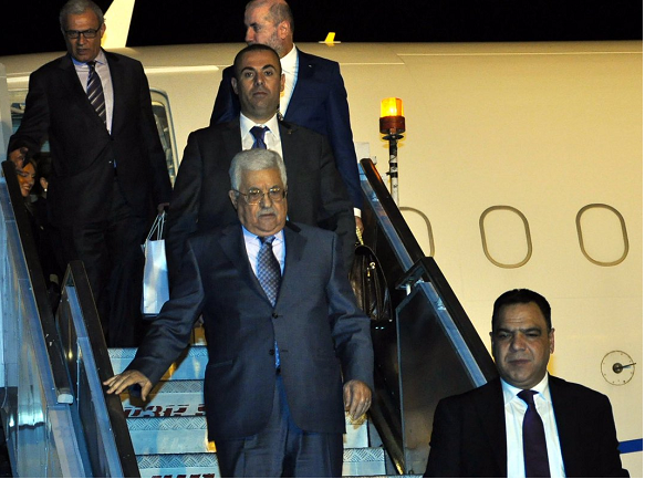 Palestine's Abbas in Amman for talks with King Abdullah