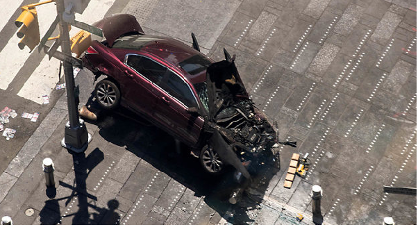 US: Driver charged with murder in Times Square crash
