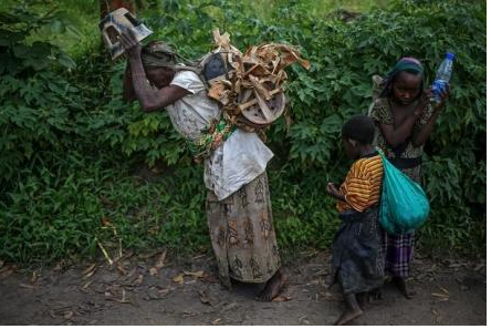 Hundreds of children dying of malnutrition in Congo