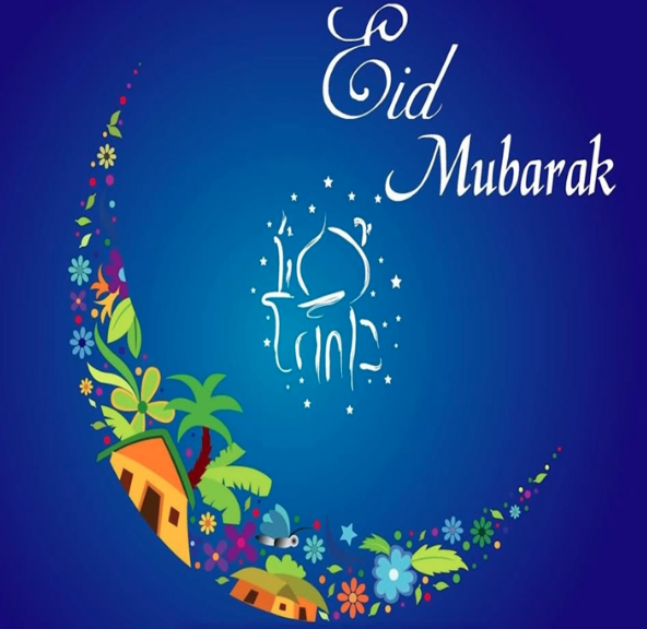Eid Mubarak. May Allah blessings be with you today, tomorrow and always.