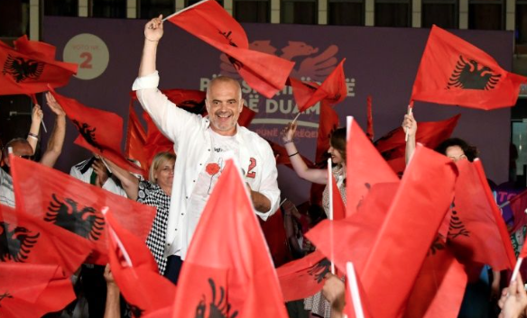 A convincing victory of Socialists in last elections in Albania