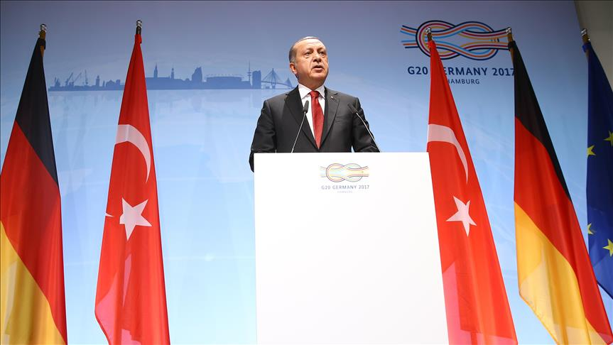 G20: Erdogan urges global action against terror