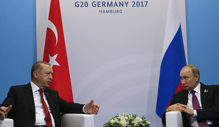 Erdogan-Putin meeting starts at G20 Hamburg Summit