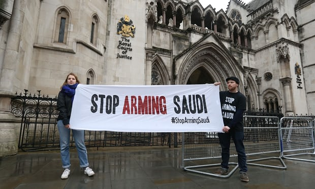 UK arms sales to Saudi Arabia 'lawful', top court says