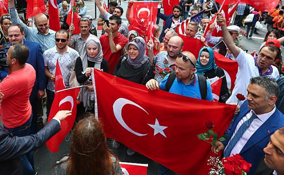 July 15 defeated coup anniversary marked in NYC