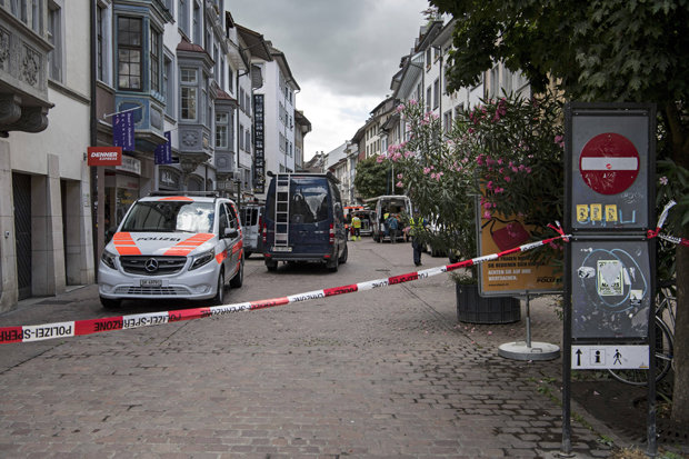 At least five people injured in Swiss attack