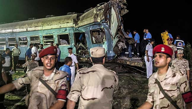 Egypt's railway head resigns after deadly crash
