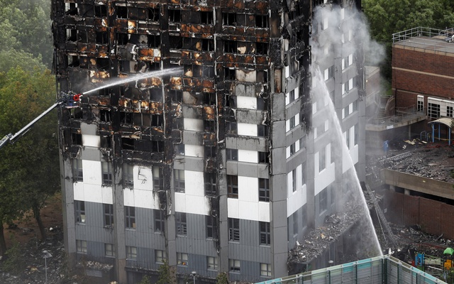 Probe into London tower fire starts examining cause