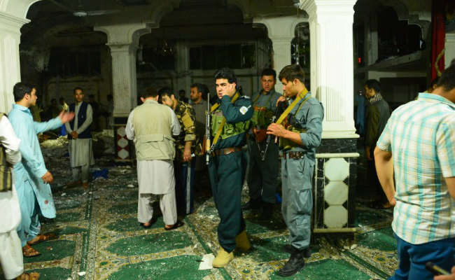 Suicide attack targets Shia mosque in Afghan capital