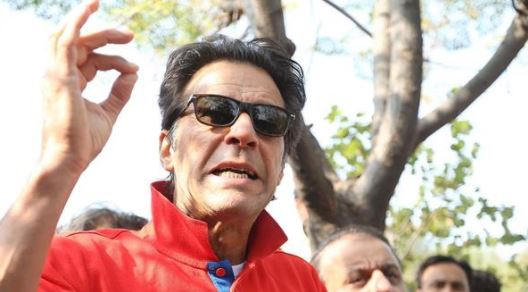 Arrest warrant out for Pakistani politician Imran Khan