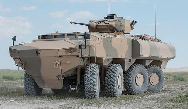 Oman launches Turkey-made armored personnel carriers