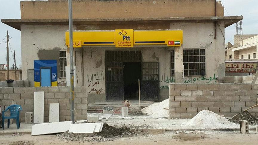 Turkey to open post office branches in Syria's Aleppo