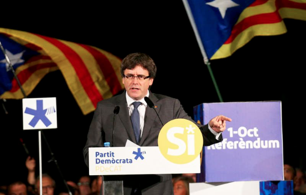 Ex-Catalan leader launches election campaign Brussels
