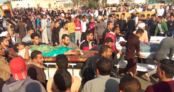 Death toll from Egypt mosque attack rises to 305