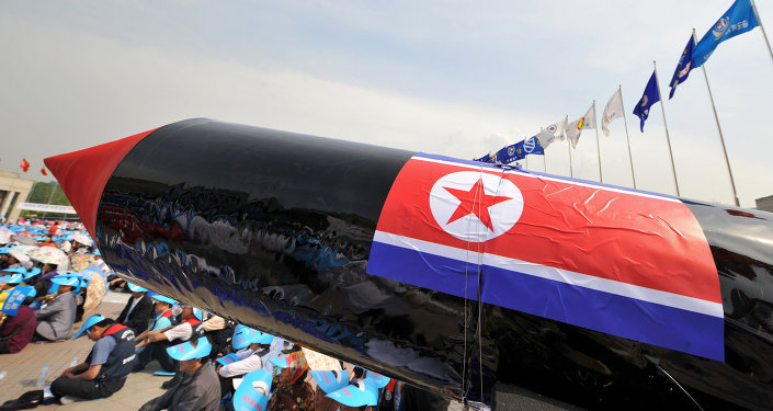Seoul stays cool after North Korea's missile test
