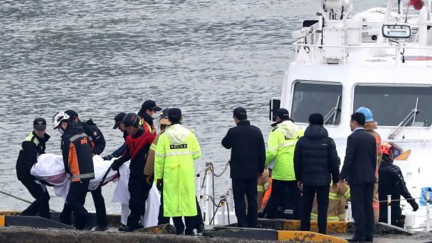 Death toll rises in South Korea boat collision
