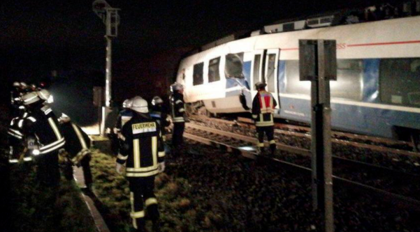 Germany: More than 40 injured in train crash