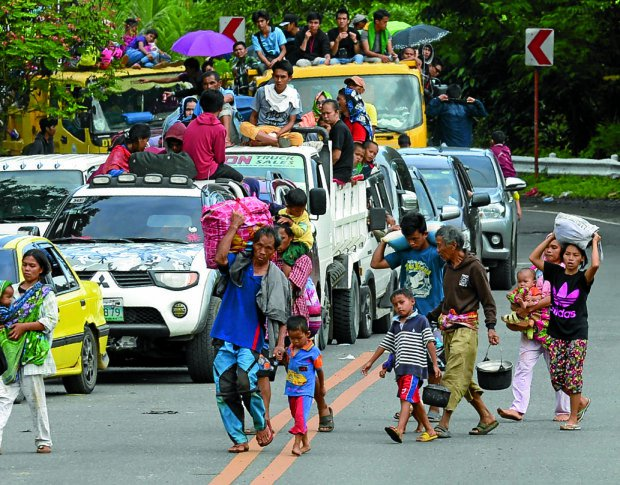 Thousands of Marawi refugees unable to return home