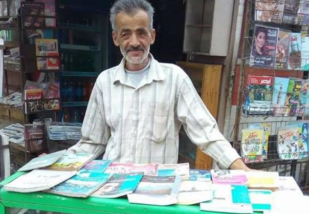 The Egyptian man who put his library on the street
