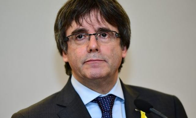 Catalan leader Puigdemont arrives in Denmark
