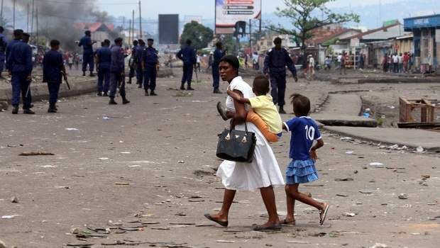 46,000 children forced to flee amid violence in DRC