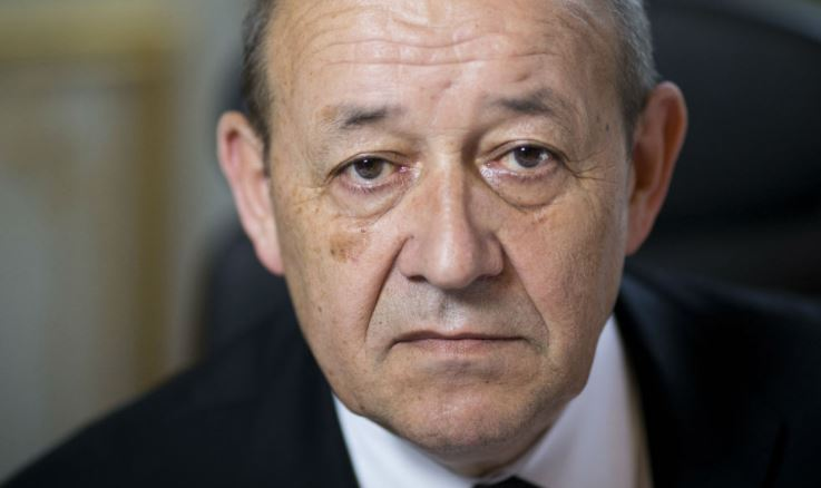 France FM visits Iraq to discuss reconstruction