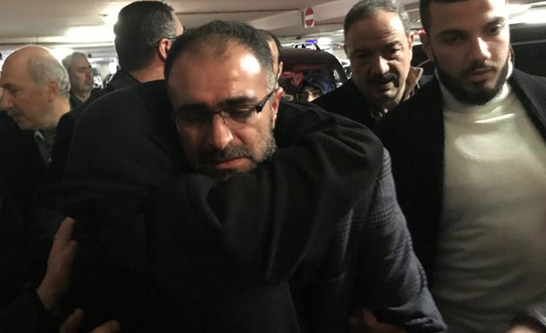 Released Turkish lecturer arrives in Turkey from Israel