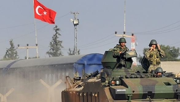 Turkish army conducts 15th round of patrols in Manbij