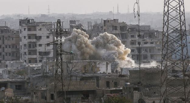 Chemical attack kills 40 in Syria's Eastern Ghouta