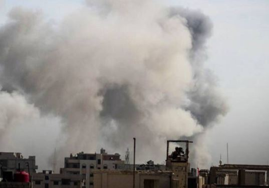 Assad regime uses chlorine gas in Eastern Ghouta