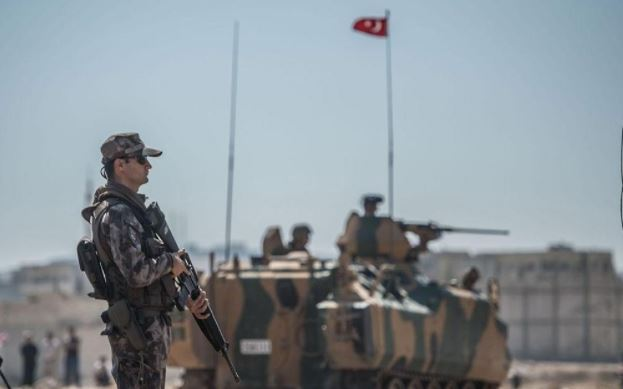 Turkish army completes third round of patrols in Manbij