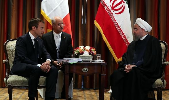 French, Iran leaders discuss regime attacks in Syria