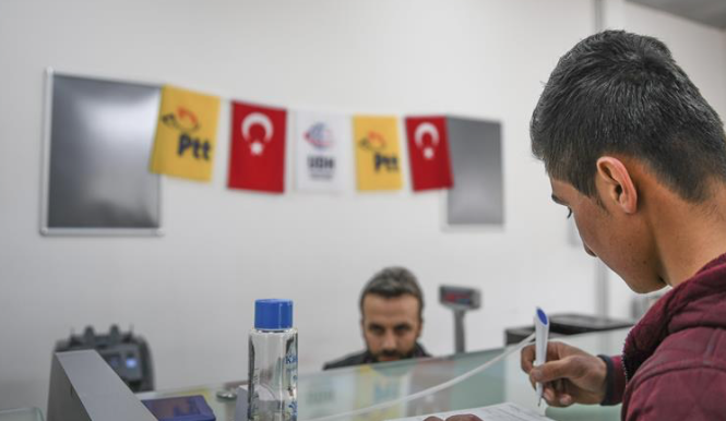Turkish post office serves freed Syria city