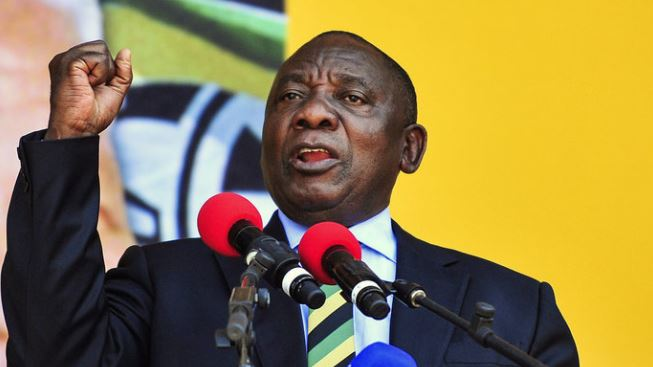 Ramaphosa says national unity depends on land reform
