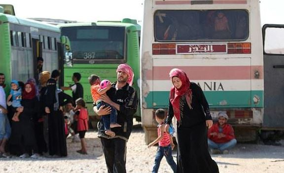 4th convoy reaches Syria's Hama amid evacuation deal