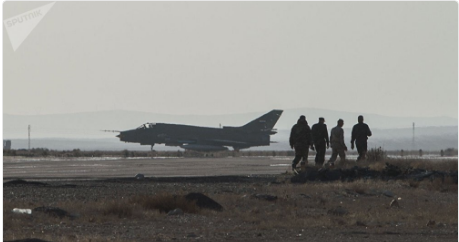 Assad Forces Empty Airports and Military Bases