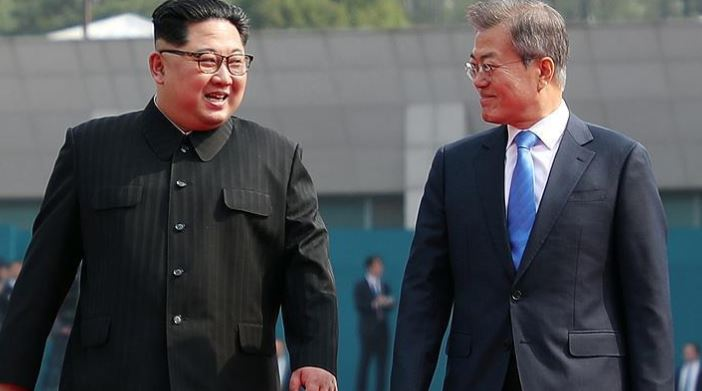 Historic inter-Korean summit underway