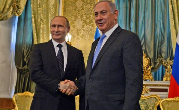 Putin, Netanyahu meet in Moscow