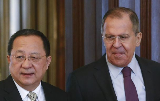 Russian FM Lavrov arrives in North Korea