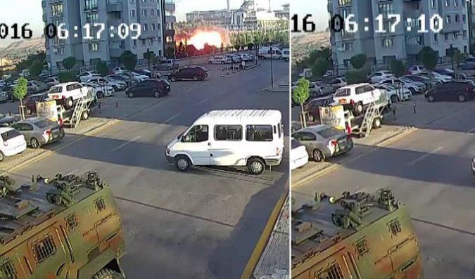 New footage shows FETO bombing presidential complex