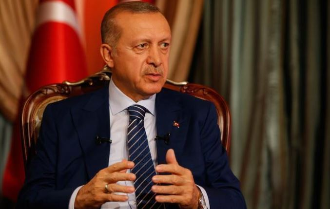 Turkish president marks anniversary of Cyprus peace op