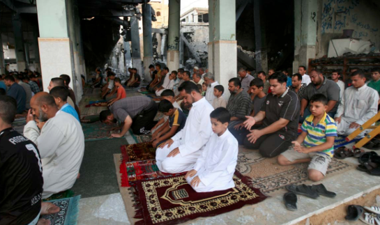 Gazans mark Eid holiday under Israel's 10-year blockade