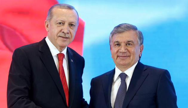 Turkish, Uzbek leaders speak over phone
