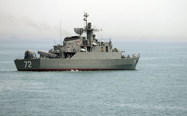 Iranian navy sends warships to Gulf of Aden