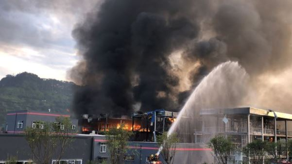 19 dead in chemical plant blast in China