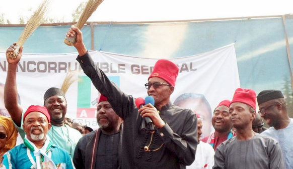 Ruling APC wins key state election in Nigeria