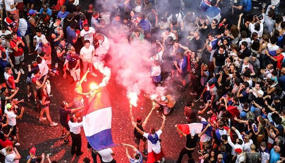 2 die in France during World Cup celebrations